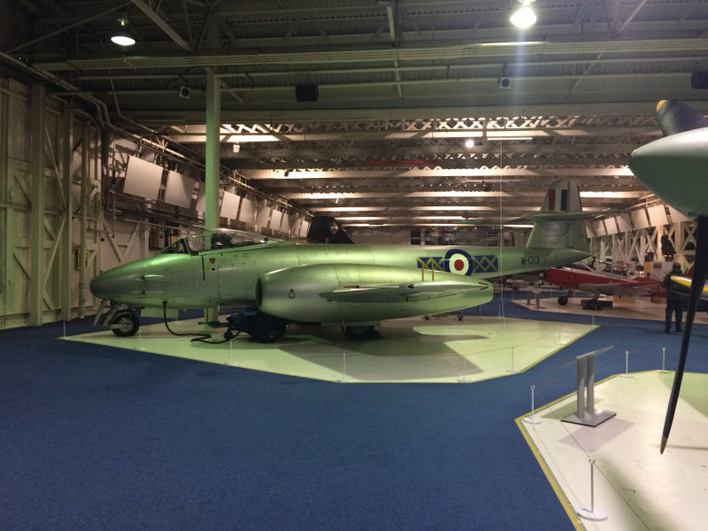 Gloster Meteor F.8 (probably)