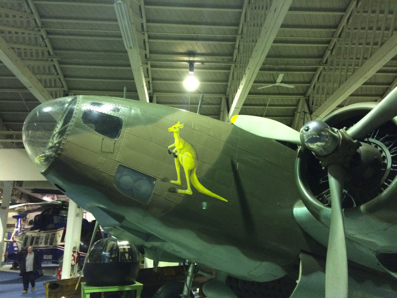 Awesome Kangaroo on an ANZAC Lockheed Hudson.